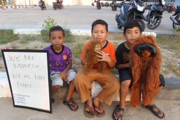 Kami Indonesia, Kami semua perlu hutan. Foto dok. Yayasan Palung
