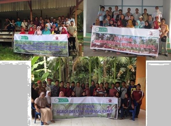 Peserta dari 5 desa yang ikut pelatihan saat berfoto bersama setelah kegiatan selesai. Foto dok. Yayasan Palung