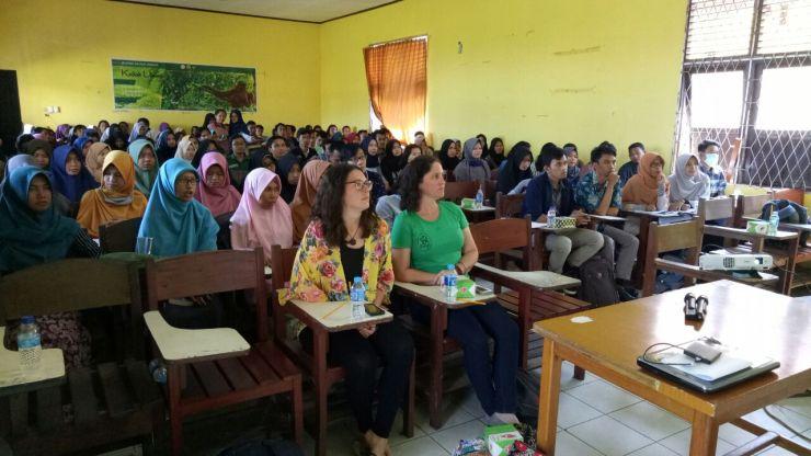 Peserta yang ikut dalam kuliah umum. Foto dok. Yayasan Palung