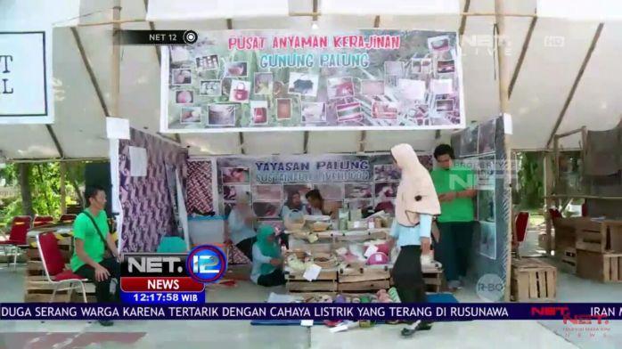 Capture foto dari Net TV ketika Yayasan Palung pameran PARARA 2017