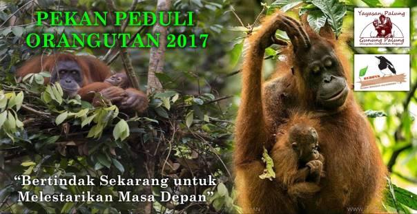 Stiker PPO 2017. Foto dok. Yayasan Palung