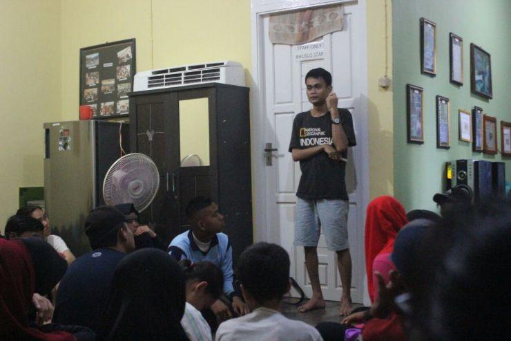 Saat  peserta berdiskusi dan belajar bersama. Foto dok. Yayasan Palung