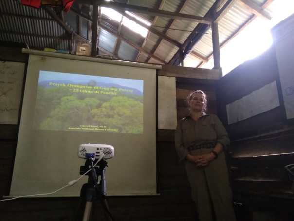 Foto Materi Orangutan Field Course di Gunung Palung