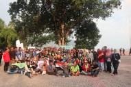 Foto bersama saat Yayasan Palung Bersama Para Relawan Perayaan International Orangutan Day 2019