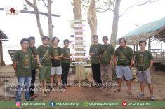 Ajak Peduli Sampah, Yayasan Palung Pasang Plang Informasi di Area Pantai Pasir Putih Sungai Gantang